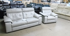 Le mans 3 seater and 1 chair stone £499 (SWANSEA SUPERSTORE) - Click for more details