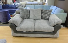 G range 2 seater  grey corded £299 (SWANSEA SUPERSTORE) - Click for more details