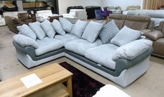 G range  corded fabric grey -dark trim 599 (SWANSEA SUPERSTORE) - Click for more details