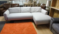 Malmo chaise sofa £499 (SWANSEA SUPERSTORE) - Click for more details
