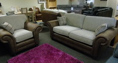 Darwin 3 seater and 1 chair £899 (SWANSEA SUPERSTORE) - Click for more details