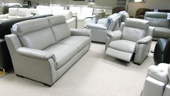 Cotswold 3 seater and 1 electric recliner chair £1499 (CARDIFF SUPERSTORE) - Click for more details