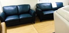 Cordoba 3 seater and 2 seater deep blue £999 (SWANSEA SUPERSTORE) - Click for more details