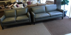 Ferrara 3 seater and 2 seater dark grey £1799 (SWANSEA SUPERSTORE) - Click for more details