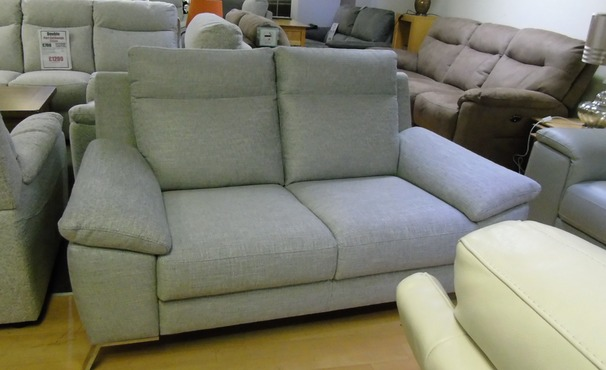 CALIA ROBY 2 seater sofa fabric £499 (SWANSEA SUPERSTORE)