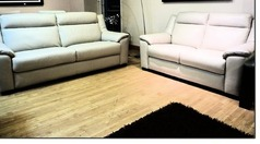 Kent 3 seater and 2 seater  stone grey £1499 (CARDIFF SUPERSTORE) - Click for more details
