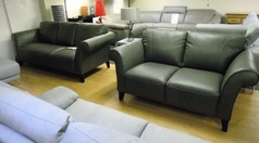 Palermo 3 seater and 2 seater dark grey £1499 (CARDIFF SUPERSTORE) - Click for more details