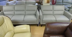 San Remo 3 seater and 2 seater grey  £1299 (CARDIFF SUPERSTORE) - Click for more details