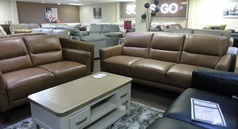 San Remo 3 seater and 2 seater sand  £1249 (CARDIFF SUPERSTORE) - Click for more details
