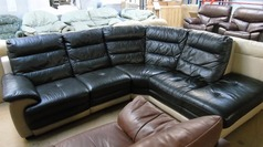 TWO tone corner suite £199 - Click for more details