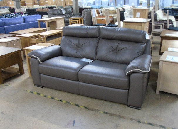 Siena 3 seater taupe £399 (SWANSEA SUPERSTORE)