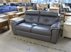 Siena 3 seater taupe £399 (SWANSEA SUPERSTORE) - Click for more details