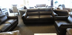 Anzio 3 seater, 2 seater and chair brown £1999 ( SWANSEA SUPERSTORE) - Click for more details