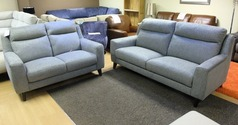 Newbury 3 seater and 2 seater grey   £999 ( SWANSEA SUPERSTORE) - Click for more details