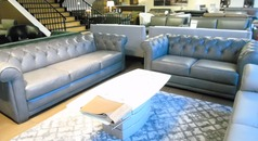 Salvo chesterfield grey £1999 (SWANSEA SUPERSTORE) - Click for more details