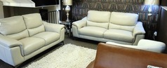 Dijon 3 seater and 2 seater stone grey £999(CARDIFF SUPERSTORE) - Click for more details