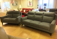 Newbury large 3 seater and 2 seater grey £1299 (SWANSEA SUPERSTORE) - Click for more details