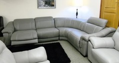 Lipari double electric recliner corner suite  £999  (SWANSEA SUPERSTORE) - Click for more details