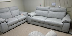 Marseille 3 seater and 2 seater grey £999 (CARDIFF SUPERSTORE) - Click for more details