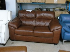 Pescaro 2 seater mid brown £399 (SWANSEA SUPERSTORE) - Click for more details