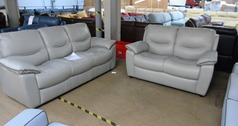 LIlle 3 seater and 2 seater grey £1499 (SWANSEA SUPERSTORE) - Click for more details