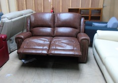 Marlow 2 seater recliner tan brown £399 (SWANSEA SUPERSTORE) - Click for more details