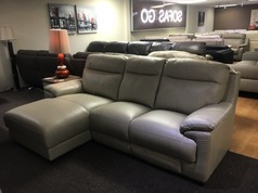 Paris Chaise left hand facing stone grey £999 (SWANSEA  SUPERSTORE)  - Click for more details