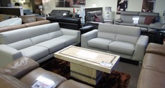 Simon 3 seater and 2 seater stone cream £1999 (SWANSEA SUPERSTORE) - Click for more details