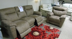 Biscay electric recliner 3 seater and 1 chair tabac  £999 (CARDIFF SUPERSTORE) - Click for more details