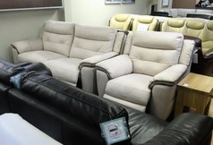 Miami electric recliner 3 seater and 1 chair bisque  £999 (SWANSEA SUPERSTORE) - Click for more details