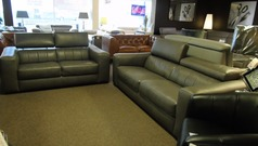 Bellini 3 seater and 2 seater dark grey £1999 (SUPERSTORE) - Click for more details