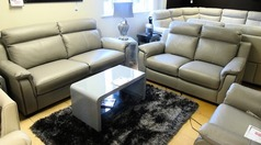Cotswold 3 seater and 2 seater grey £999 (SWANSEA SUPERSTORE) - Click for more details