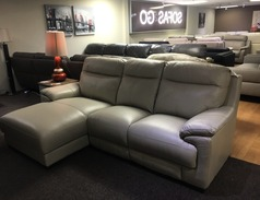 Paris Chaise sofa  stone grey £999 (SWANSEA  SUPERSTORE)  - Click for more details