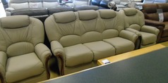 GARDA 3 seaterand 2 chairs  stone beige £1499 (NEWPORT STORE) - Click for more details