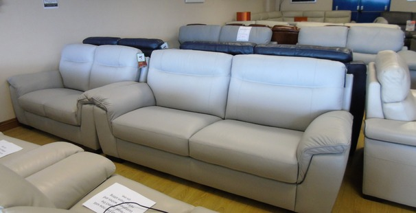 Valencia 3 seater and 2 seater grey £1399 (NEWPORT STORE)
