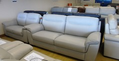 Valencia 3 seater and 2 seater grey £1399 (NEWPORT STORE) - Click for more details