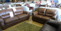 Mira 3 seater and 2 seater vintage tan £1499 (NEWPORT STORE) - Click for more details