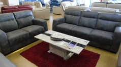 FORLI 3 seater and 2 seater grey vintage £1199 (NEWPORT STORE) - Click for more details