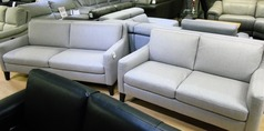 Ferrara 3 seater and 2 seater light beige £999 (CARDIFF SUPERSTORE) - Click for more details