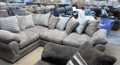 G range mink corded fabric corner £599 (SWANSEA SUPERSTORE) - Click for more details