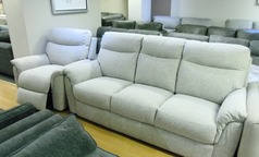 Brussels 3 seater a electric recliner chair  beige £999 (SWANSEA SUPERSTORE) - Click for more details
