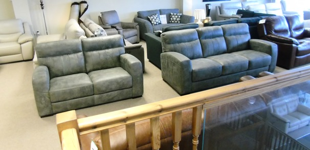 FORLI 3 seater and 2 seater grey £1199 (CARDIFF SUPERSTORE)