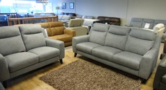 Newbury large 3 seater and 2 seater grey £999 (CARDIFF SUPERSTORE) - Click for more details