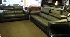 Bellini 3 seater and 2 seater dark grey £1499 ( SWANSEA SUPERSTORE) - Click for more details
