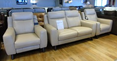 Newbury 2 seater and 2 electric recliner chairs Beige  £1699  (CARDIFF SUPERSTORE) - Click for more details