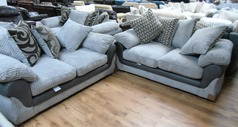 G range 2 seaer and 2 seater grey  £399 (SWANSEA SUPERSTORE)  - Click for more details