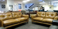 CADIZ 3 seater and 2 seater vintage light tan £1599 (SWANSEA SUPERSTORE) - Click for more details