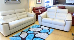Luxembourg 3 seater and 2 seater beige £1499 (CARDIFF SUPERSTORE) - Click for more details