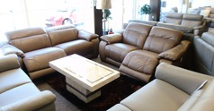 Lipari 3 seater and 2 seater two tone beige £3499 (SWANSEA SUPERSTORE) - Click for more details