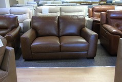Porto 2 seater vintage tan £499 (SWANSEA SUPERSTORE) - Click for more details